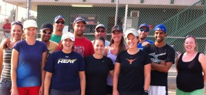 Ecora slow pitch team
